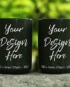 Two Mug Mockup 15oz Mugs Mock Up Black Coffee Mug Mockup Etsy