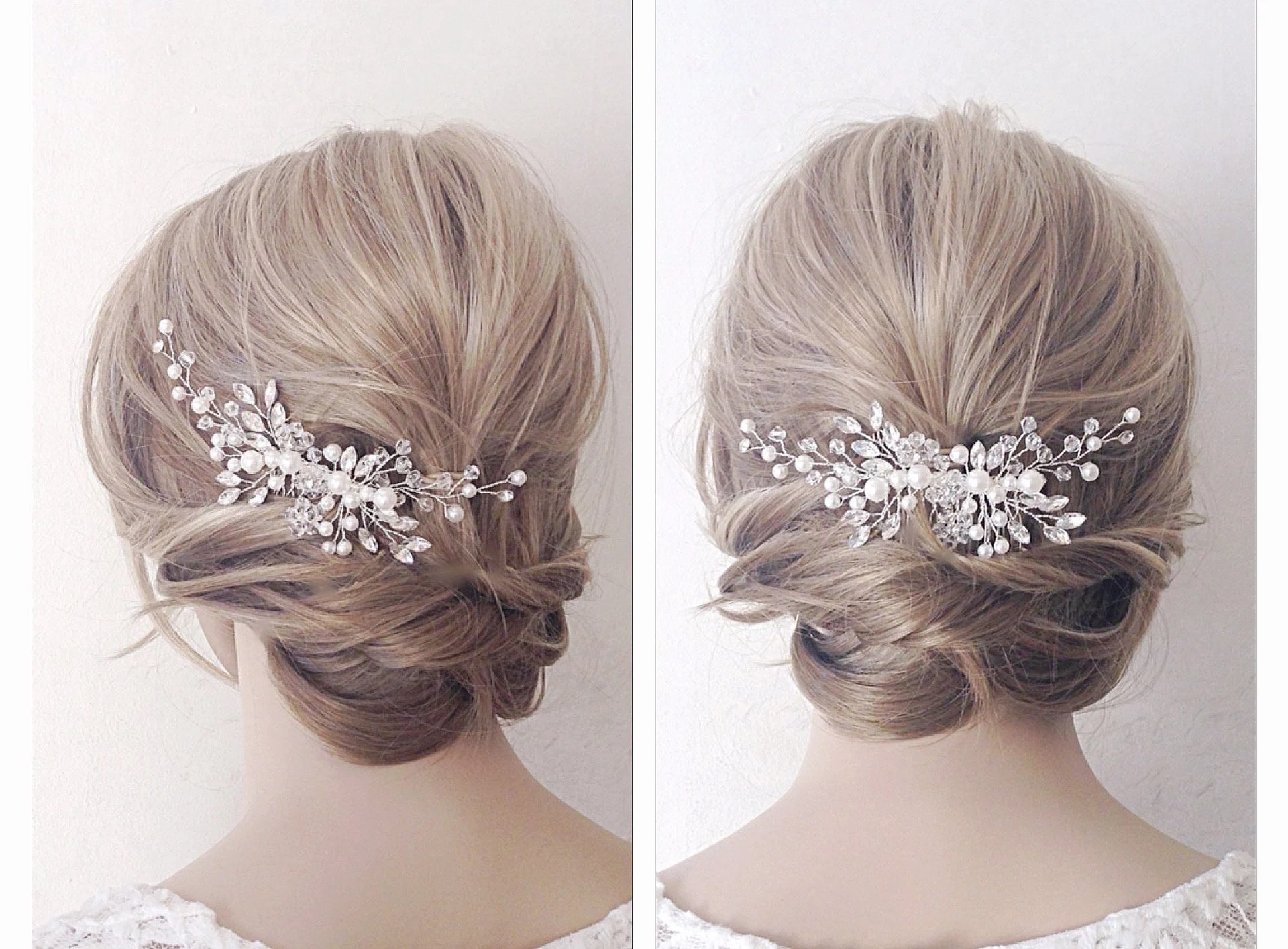 bridal hair piece bridal hair vine bridal headpiece bridal hair comb wedding hair comb wedding hair piece pearl hair vine