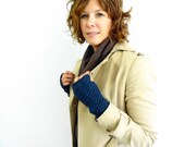 Lettercarrier Mitts - Knit Pattern - PATTERN ONLY - Knitting Pattern - Fingerless Mitts - Fingerless Gloves - Hand warmers