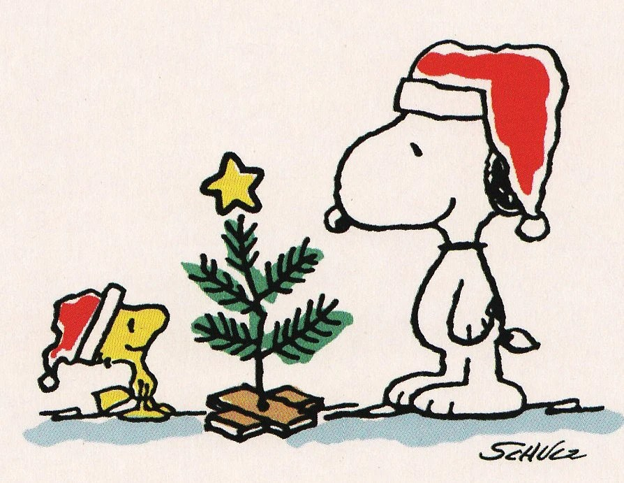 Snoopy Christmas All Color Fabric Iron On Transfer Etsy
