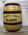 Metal Barrel Bank Etsy