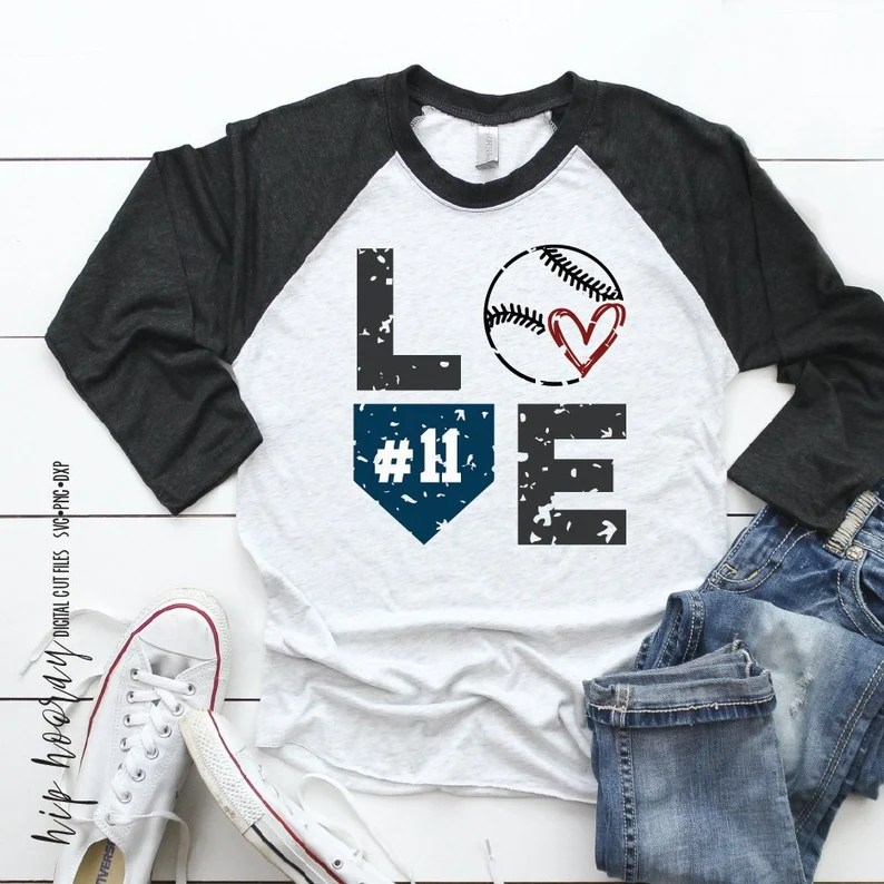 Download Baseball SVG LOVE Distressed custom Fastpitch Tshirt Dad ...