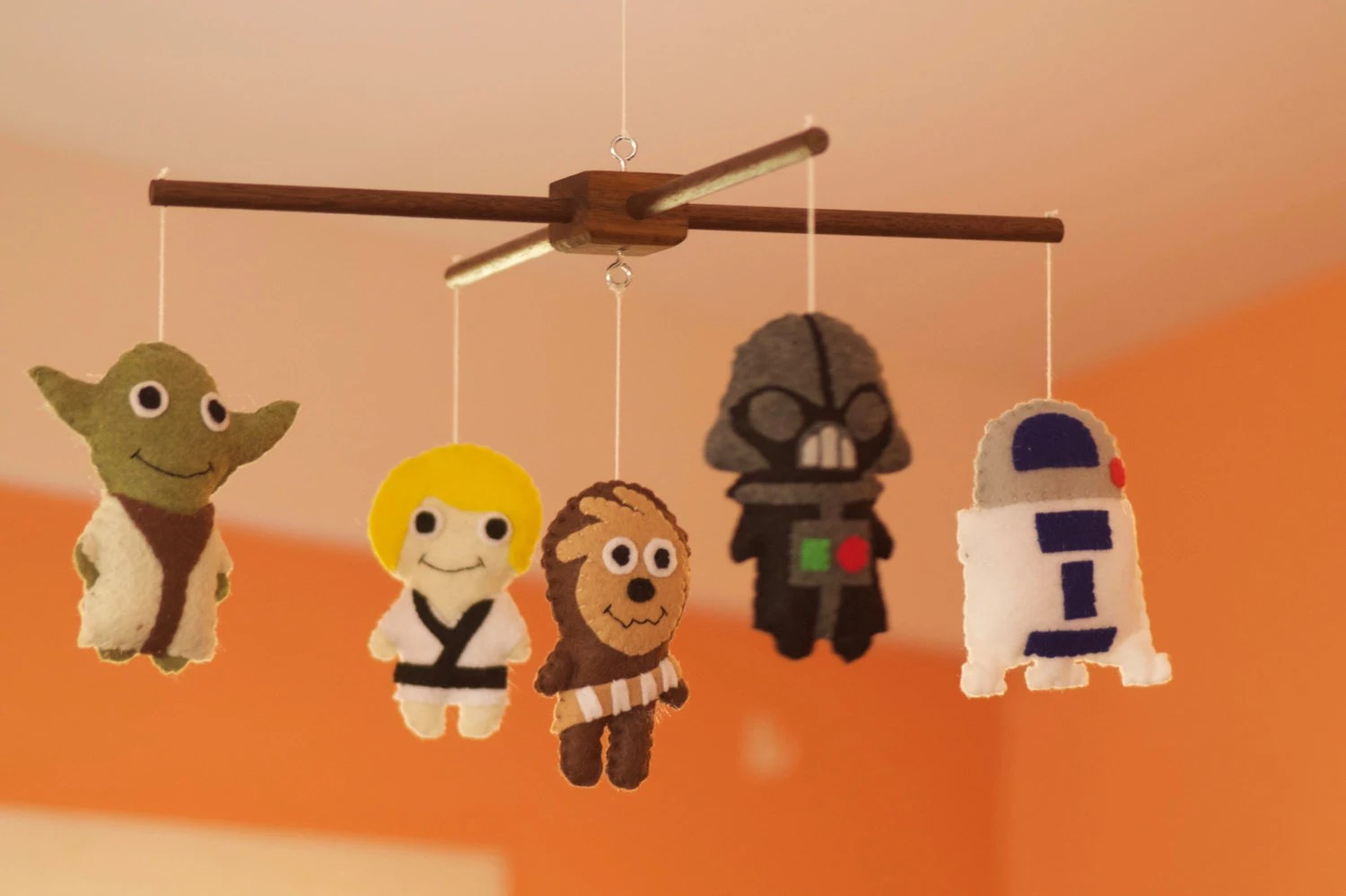 Baby Star Wars Felt Pattern 5 Characters
