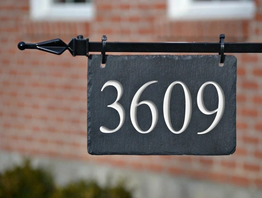 Hanging house number   Etsy Popular items for hanging house number