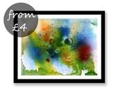 Abstract seascape art Ori...