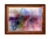 abstract watercolor print...