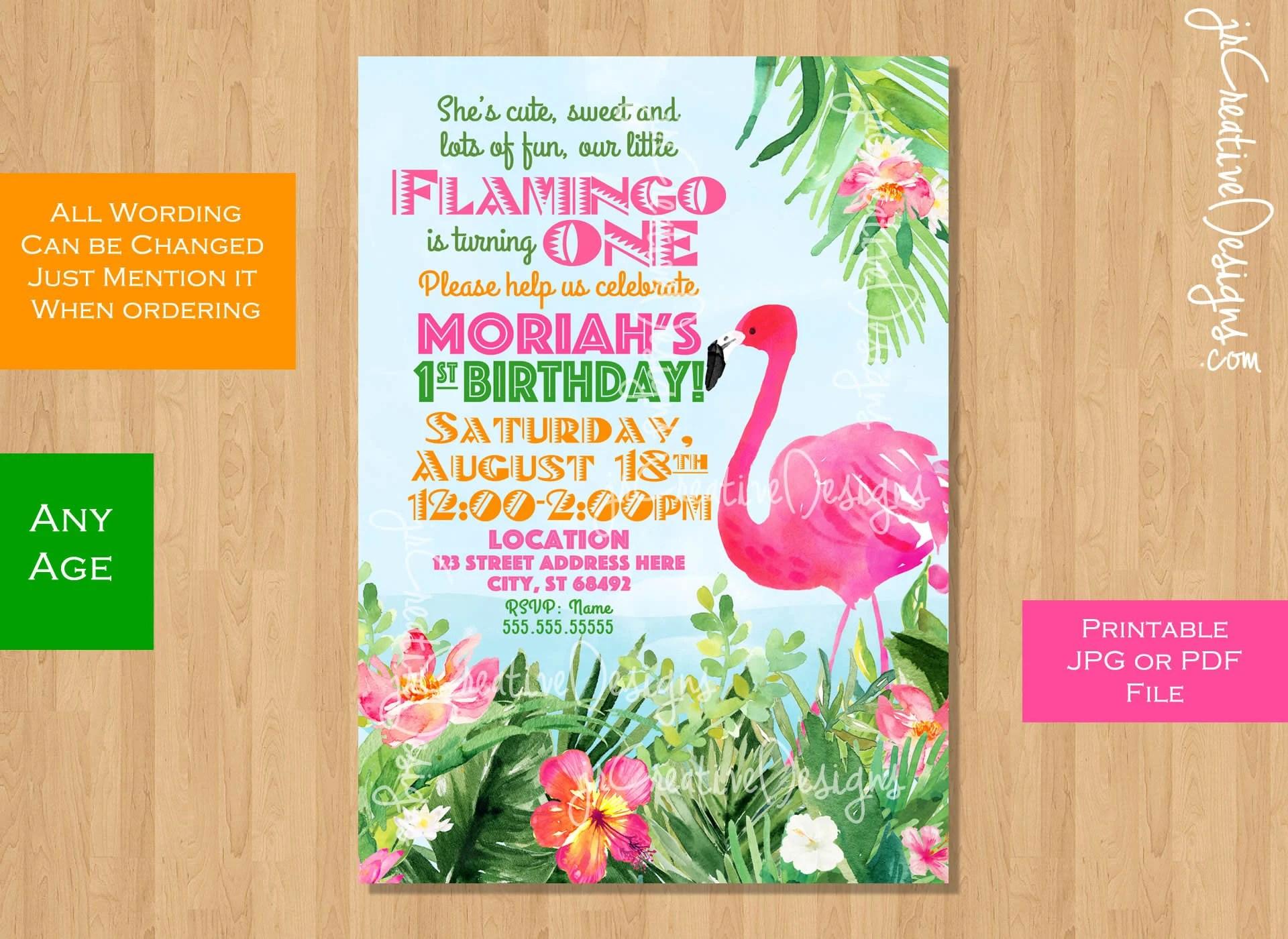 flamingo invitation flamingo invite