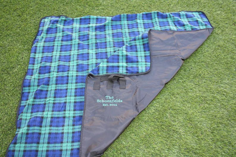 PERSONALIZED Polar Fleece and Polyester Picnic or Outdoor image 0