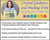 Crystal Guidance and Healing Tribe Membership Area and Group
