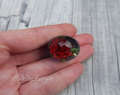 Everlasting Deep Red Rose...