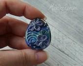Pretty blue & purple Flow...