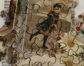 Vintage Puzzle Pieces - Victorian Images - Junk Journals, Smashbooks, Scrapbook, Collage,  Mixed Media, Altered Art - EA40