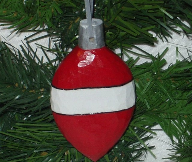 Hand Carved Christmas Ornament Red And White Wooden Ball Wood Christmas Ornament Handmade Wood Christmas Ornament Christmas Decor