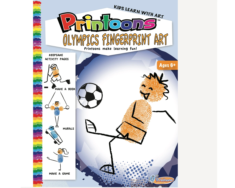 Sports Olympics Fingerprint Art Sports Digital Download