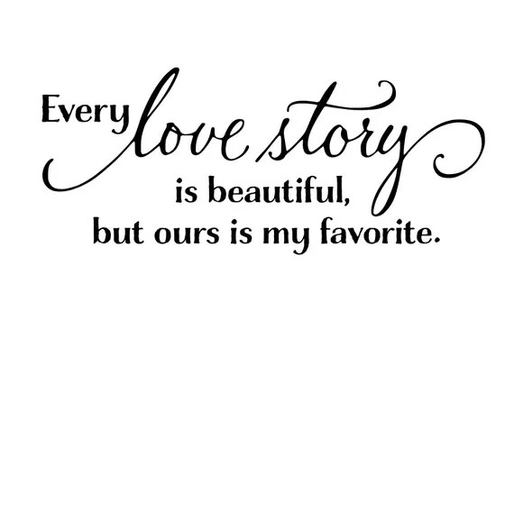 Download Every Love Story is beautiful svg | Etsy