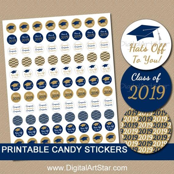 Instant Download Graduation Candy Buffet Supplies 2019