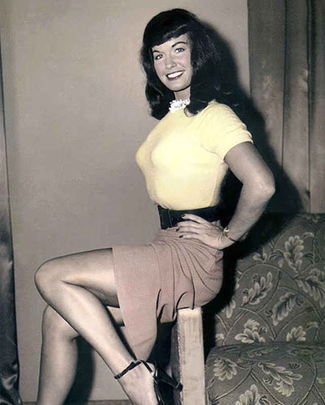 """Lot of 19 19x19"""" Hand Color Tinted Photographs Bettie Page Fetish Model Queen  of Playboy Playmate Wall Art Décor"""