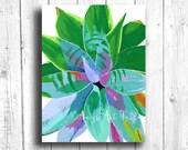 Colorful Succulent Painti...