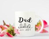 Personalized Dad Mug, Dad...