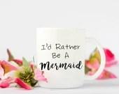 Mermaid Coffee Mug, Funny...