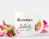 Personalized Grandpa Mug,...