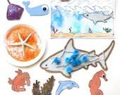 Sea Life Mini Art Kit