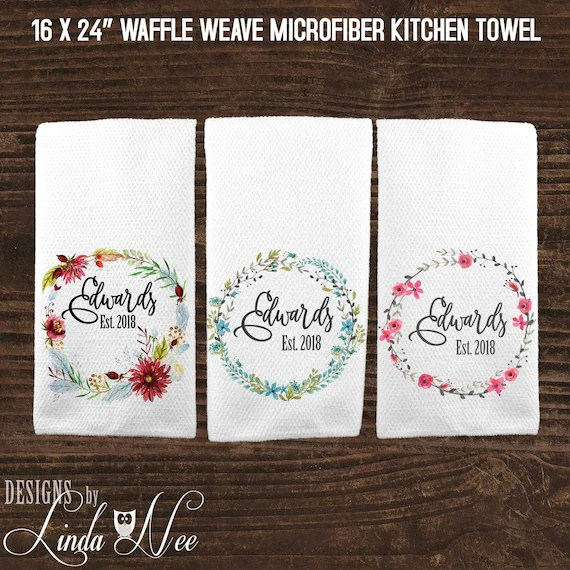 Personalised Kitchen Towel