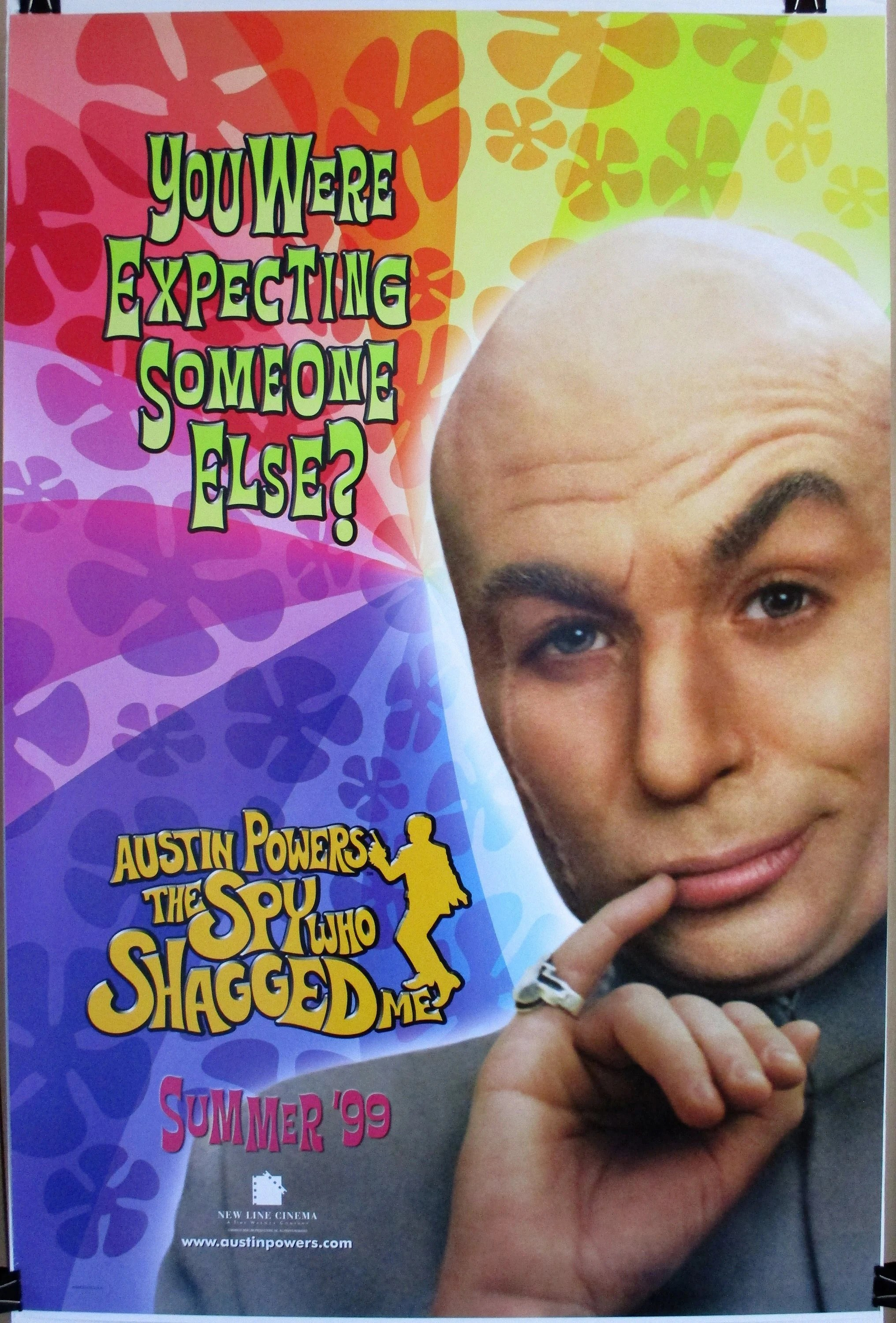 austin powers the spy who shagged me 1999 advance version original 27x40 movie poster vintage movie poster mike myers dr evil