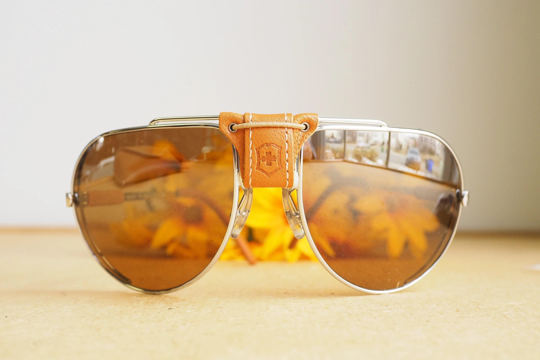 Aviator Sunglasses Leather Side Shields Heritage Malta
