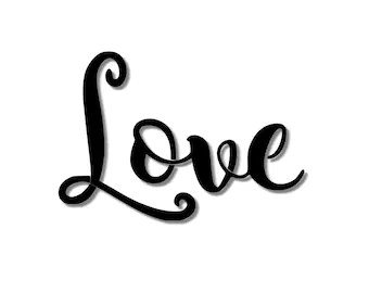 Download Cursive stencil | Etsy
