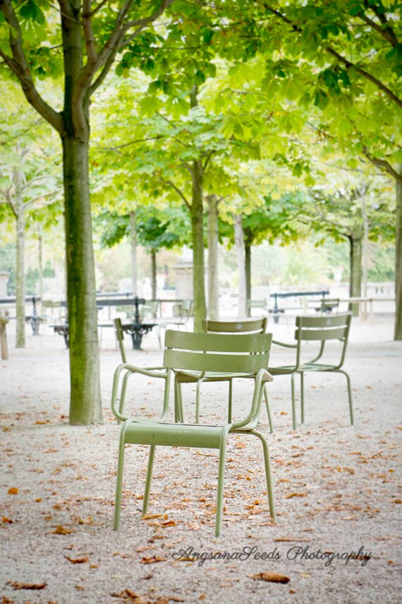 Green chair stock photos and images (62,470). paris travel photography luxembourg garden jardin du luxembourg mint green chair autumn leaves fall in paris outdoor meditative art under 50