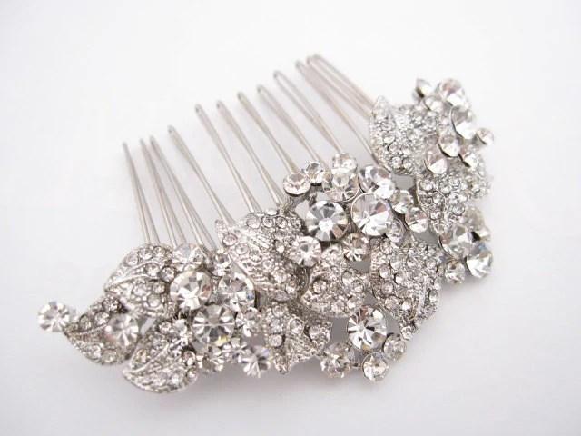 wedding hair comb bridal hair accessories wedding rhinestone hair comb bridal hair comb crystal wedding headpieces wedding comb bridal