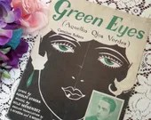 Vintage Antique 1929 Gree...