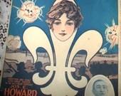 Vintage World War I Art D...
