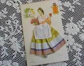 Vintage Silk Embroidered ...