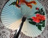Vintage Folding Hand Fan ...