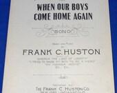 Vintage Antique 1918 When...