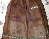 Vintage Brown Sheer  See ...