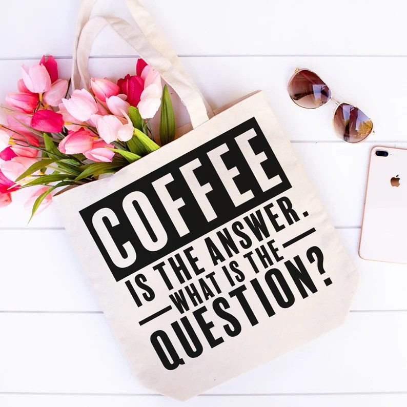 Download Coffee is the Answer SVG Coffee SVG File Coffee Lover SVG ...