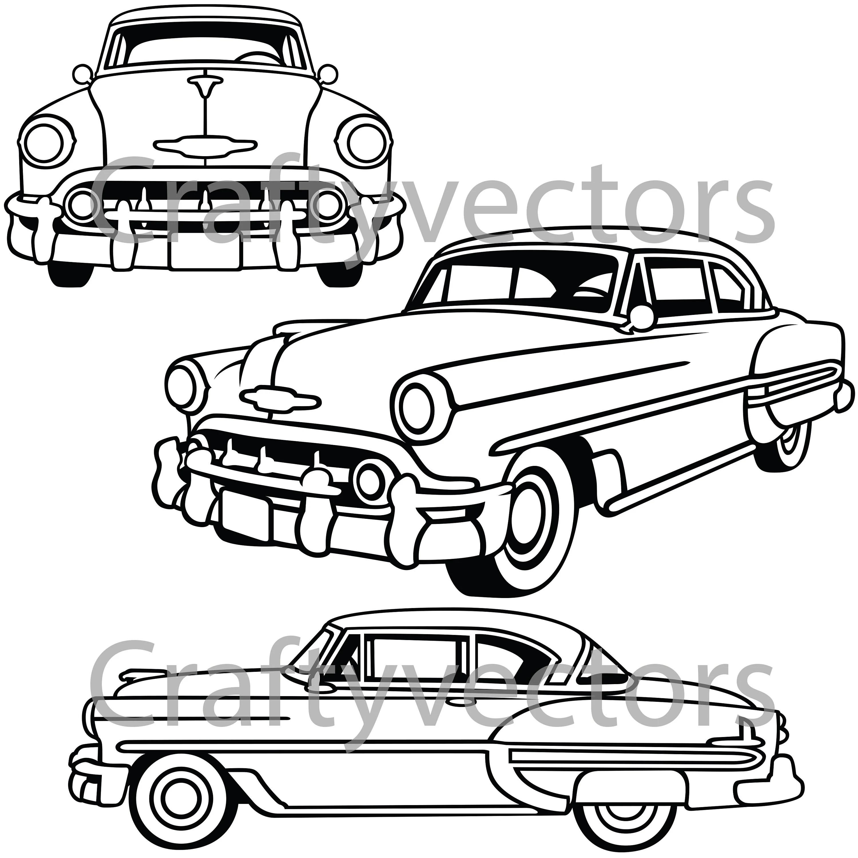 Chevrolet Bel Air Vector File