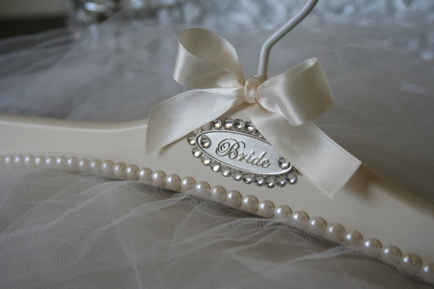Wedding Gown Dress Bridal Hanger Custom Personalized Bride