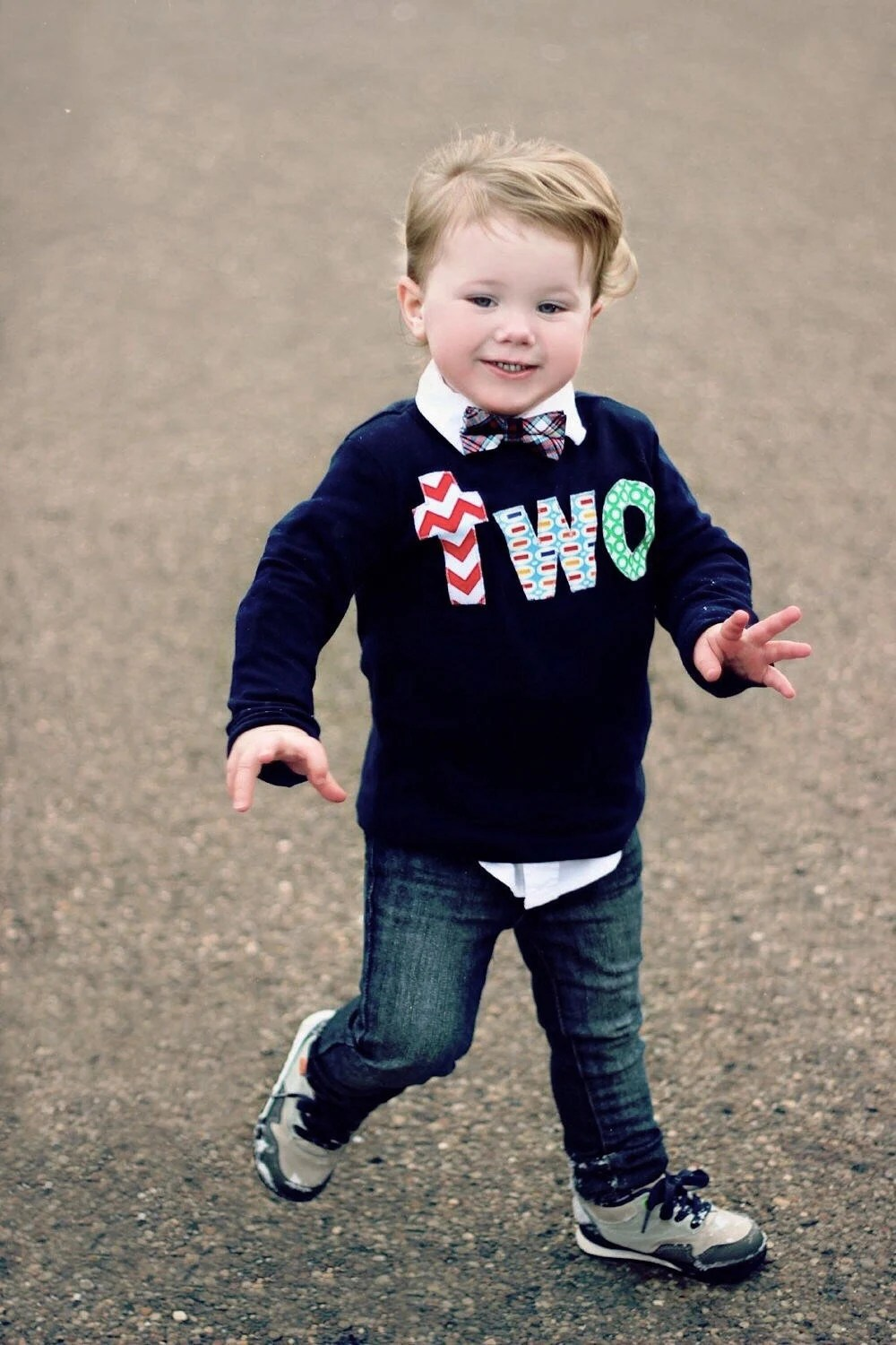 Two Birthday Shirt Boy 2 Year Old Outfit 2nd Birthday Navy Etsy