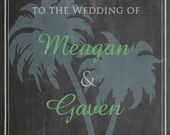Chalkboard Wedding Welcome Sign Bridal or Baby Shower Birthday Shabby Chic Vintage Nautical Digital