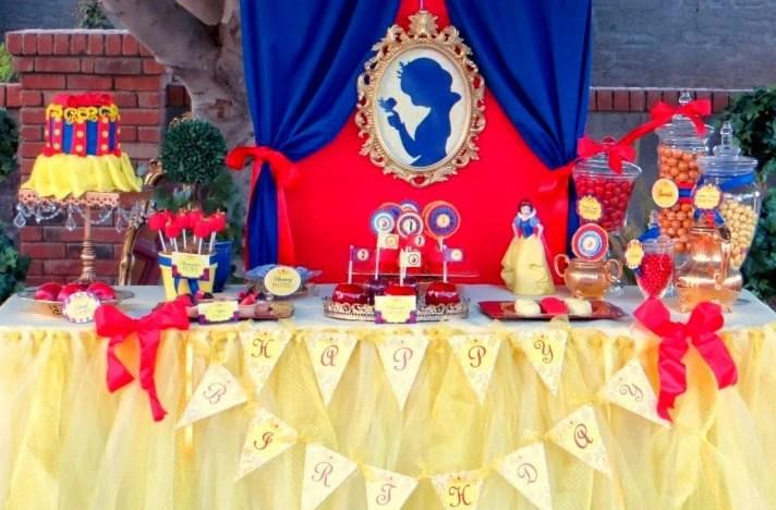 Snow White Party Complete Snow White Birthday Girl Etsy