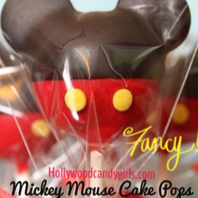 Mickey Mouse Minnie Mouse Disney Shaped Cake Pops Cake Etsy