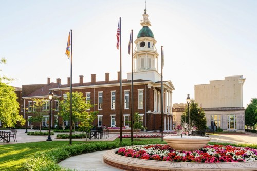 Boyle County Courthouse in downtown Danville Kentucky