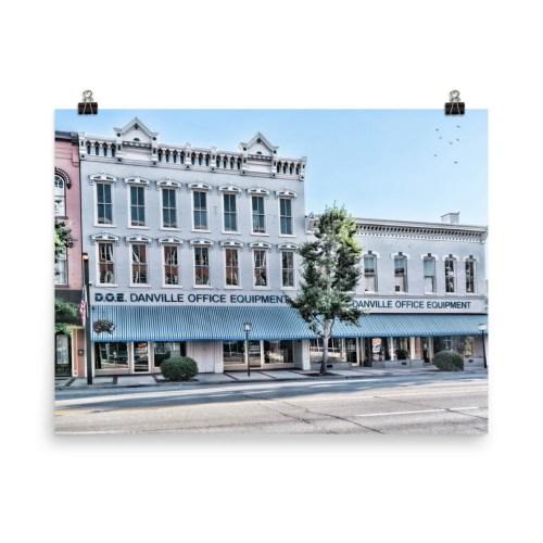 Danville Office Equipment in downtown Danville Kentucky