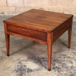 Mid Century Modern End Table Nightstand Etsy