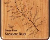 NORTH FORK SHOSHONE River...