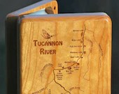 TUCANNON RIVER Lakes Map ...